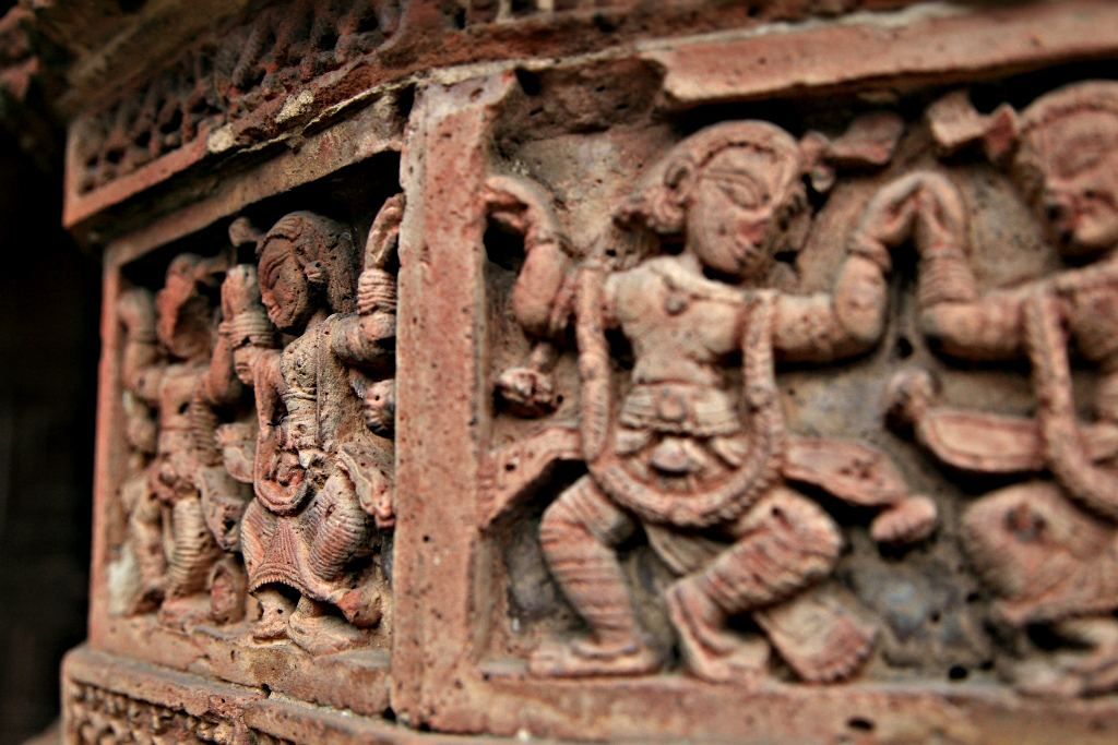 Terracotta Carving
